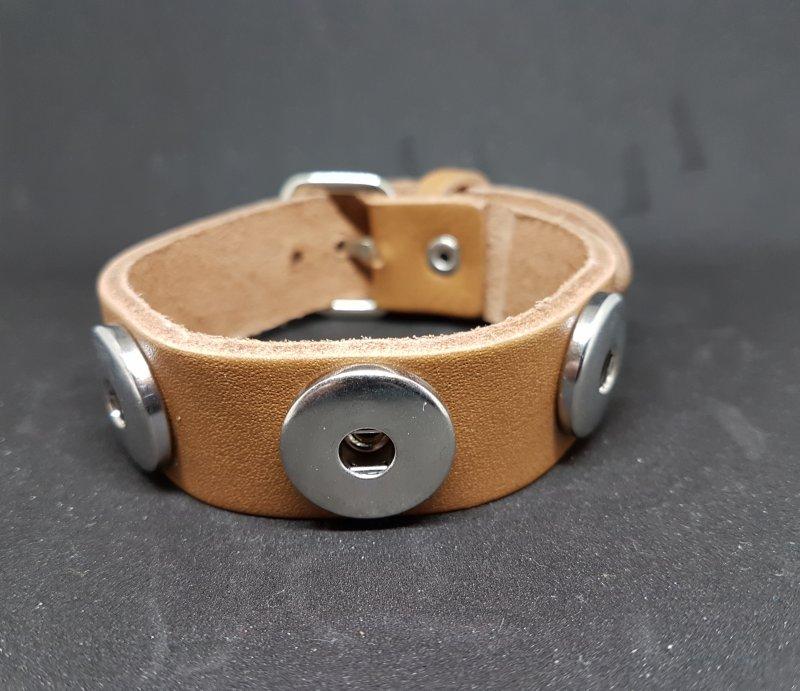 Armband Leder hellbraun